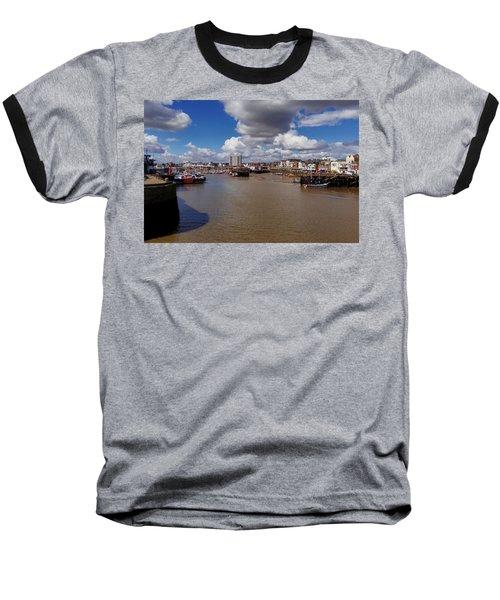 Bridlington Harbour Baseball T-Shirt