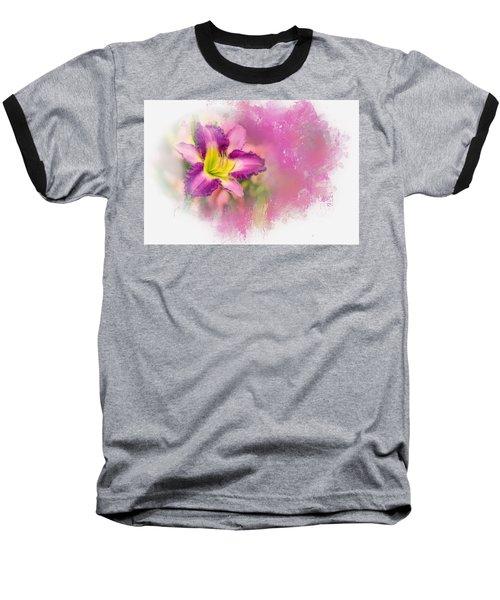Bright Lily Baseball T-Shirt