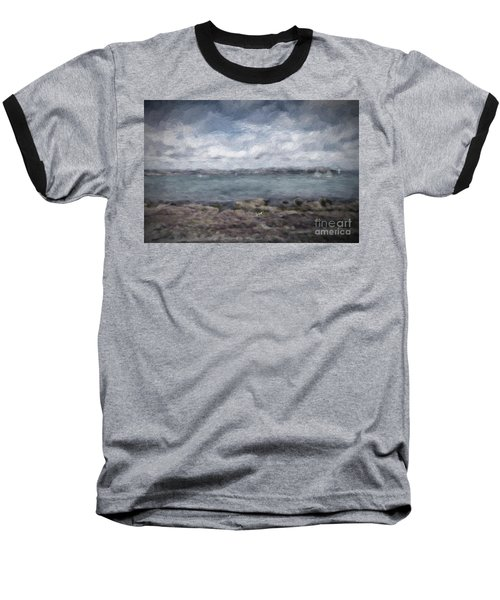 Baseball T-Shirt featuring the photograph Brixham Harbour by Patricia Hofmeester