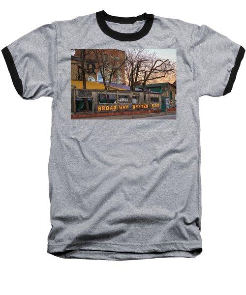 Broadway Oyster Bar Baseball T-Shirt