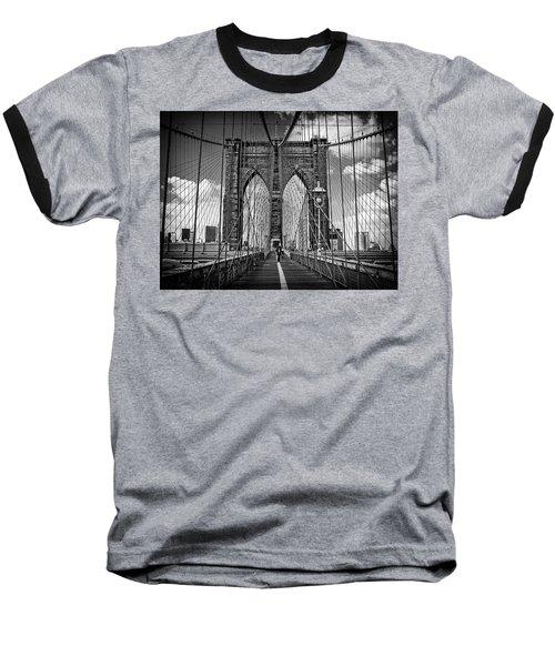 Brooklyn Bridge Baseball T-Shirt