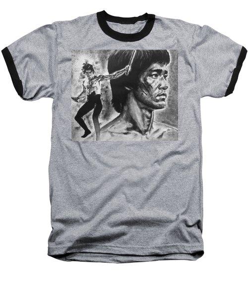Bruce Lee Baseball T-Shirt