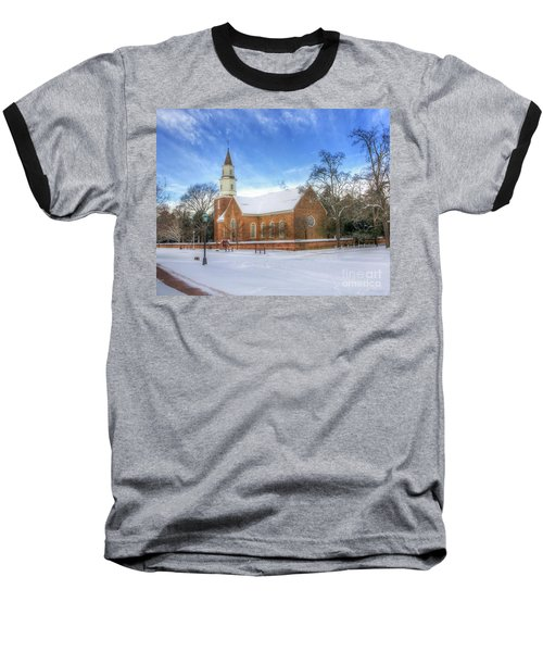 Bruton Parish In Winter II Baseball T-Shirt