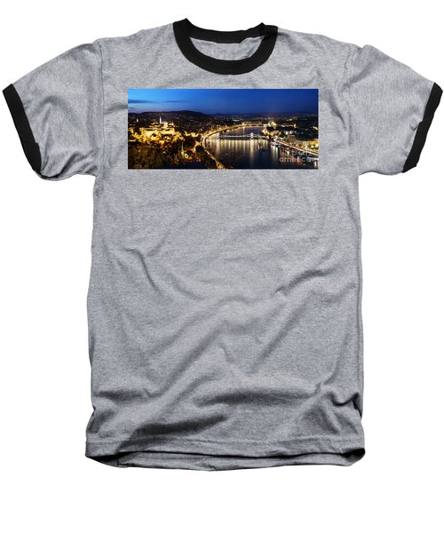 Budapest. View From Gellert Hill Baseball T-Shirt