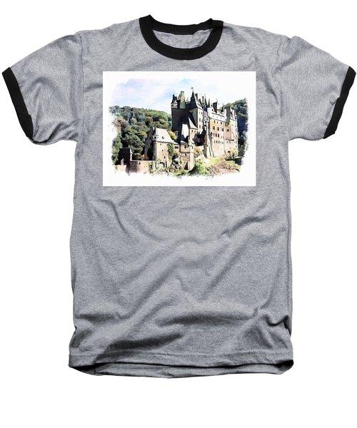 Burg Eltz - Moselle Baseball T-Shirt by Joseph Hendrix