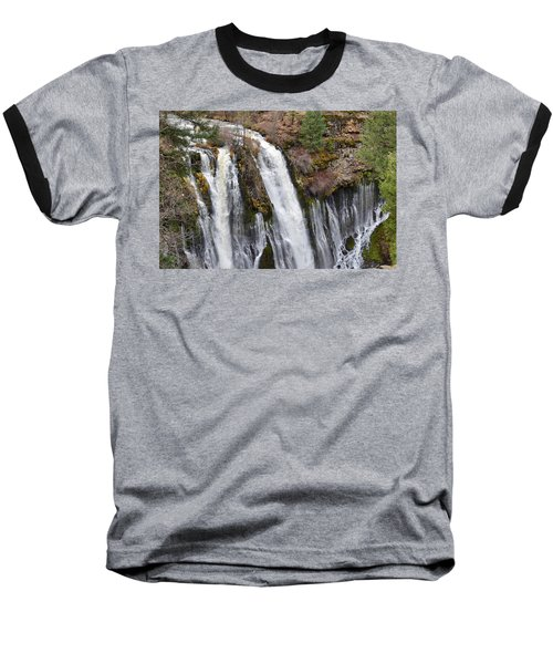 Burney Falls Baseball T-Shirt