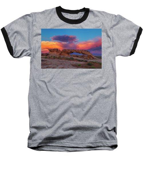 Burning Skies Baseball T-Shirt