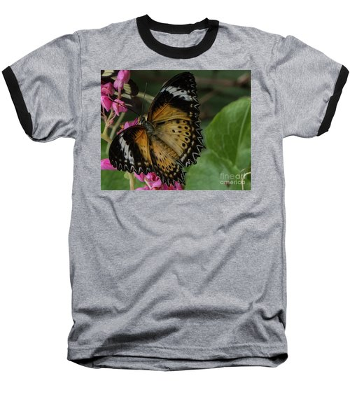 Butterfly 6 Baseball T-Shirt