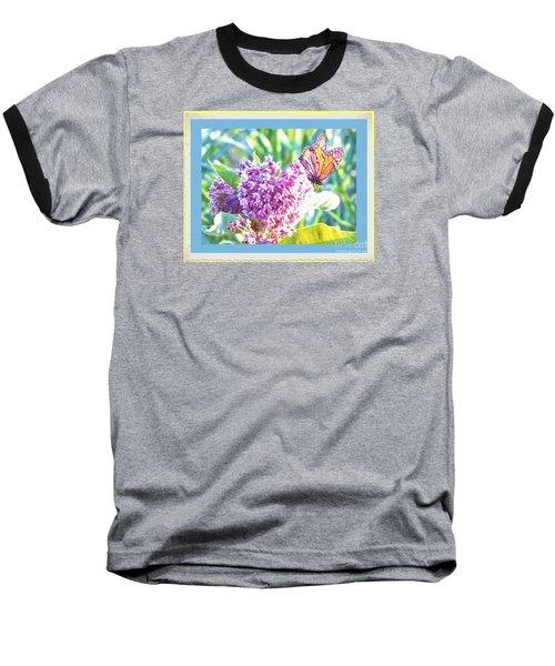 Butterfly Day 2 Baseball T-Shirt