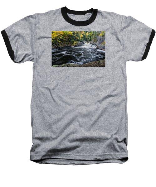 Buttermilk Falls Gulf Hagas Me. Baseball T-Shirt