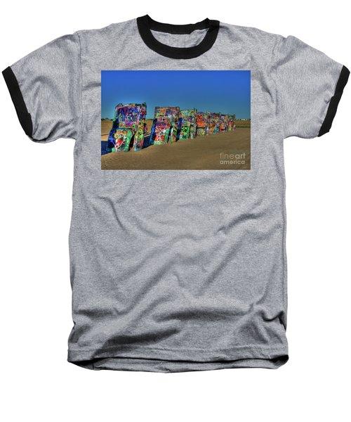 Cadillac Ranch 2 Baseball T-Shirt