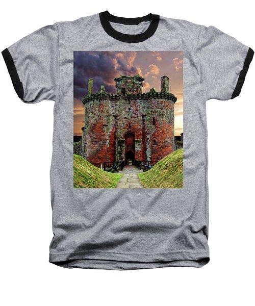 Caerlaverock Castle Baseball T-Shirt