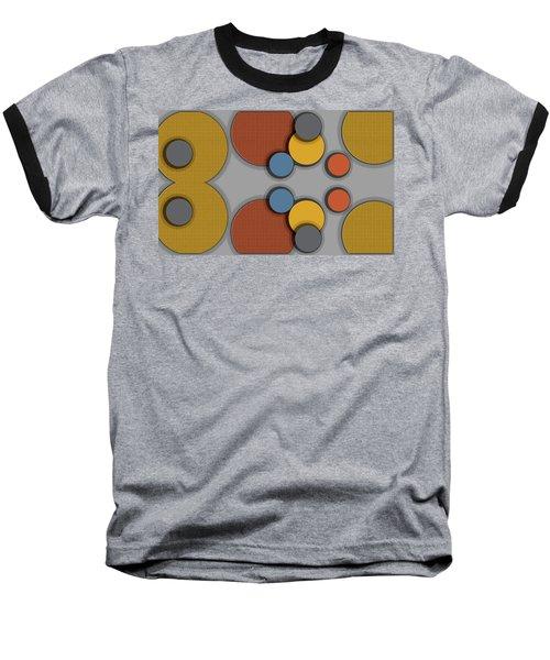 Colorful Circles Baseball T-Shirt