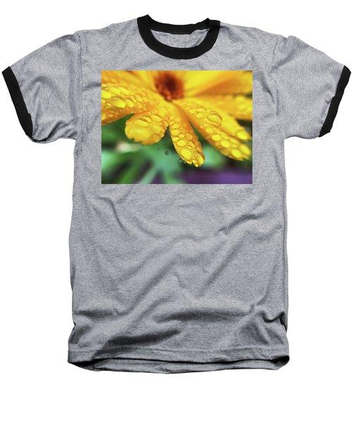 Calendula Officinalis Baseball T-Shirt