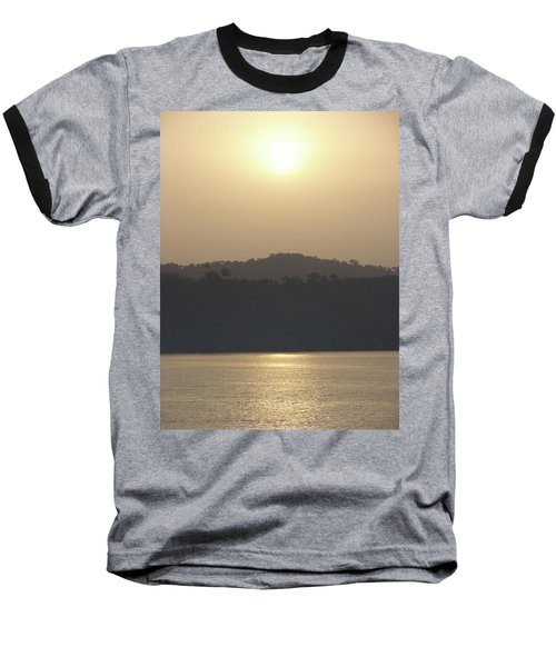 Cameroon Sunrise Africa Baseball T-Shirt