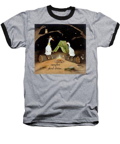 Campfire Ghost Stories Baseball T-Shirt