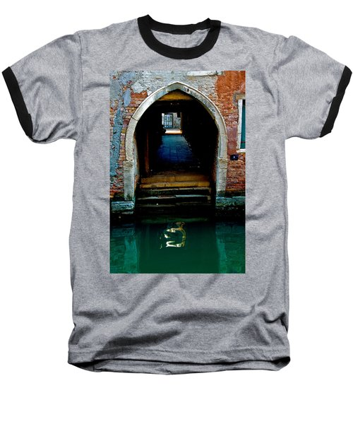 Canal Entrance Baseball T-Shirt