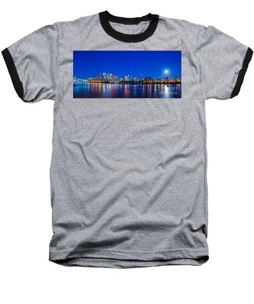 Canary Wharf 3 Baseball T-Shirt
