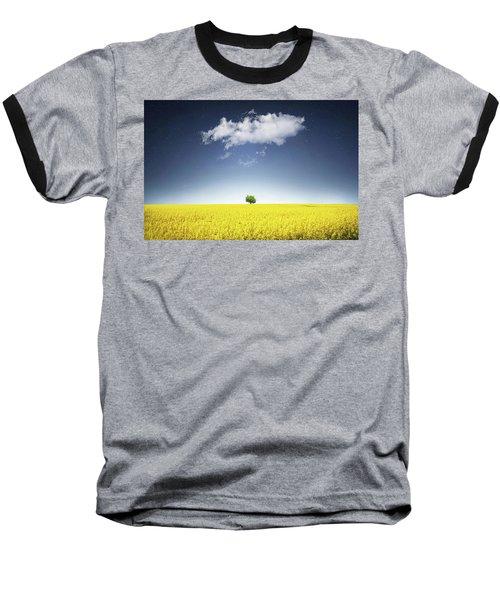 Canola Field Baseball T-Shirt