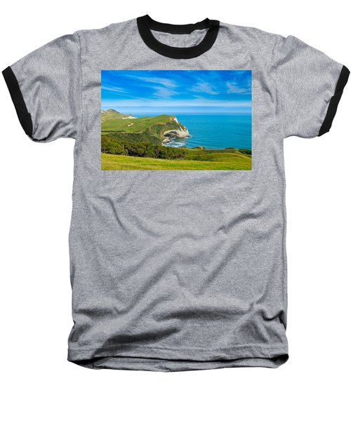 Cape Farewell Able Tasman National Park Baseball T-Shirt by Ulrich Schade