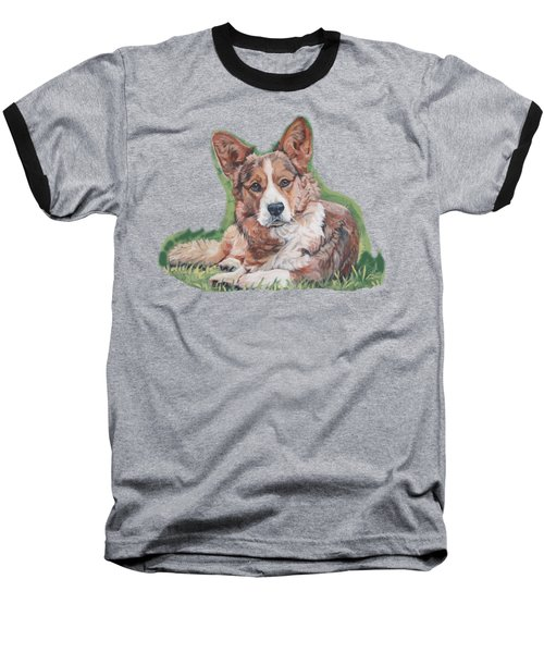 Cardigan Welsh Corgi Baseball T-Shirt