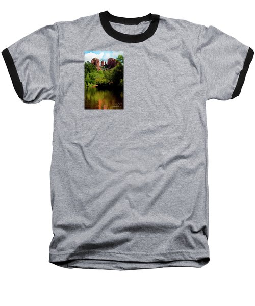 Baseball T-Shirt featuring the photograph Cathedral Rock by Ivete Basso Photography