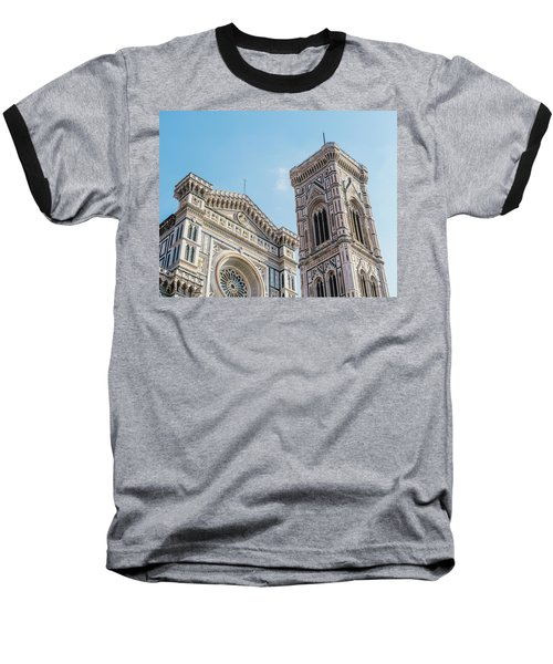 Cattedrale Di Santa Maria Del Fiore Is The Main Church Of Floren Baseball T-Shirt