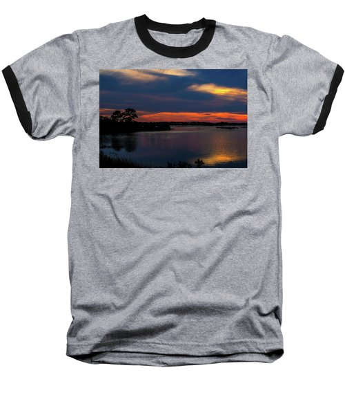 Baseball T-Shirt featuring the photograph Ceader Key Florida  by Louis Ferreira