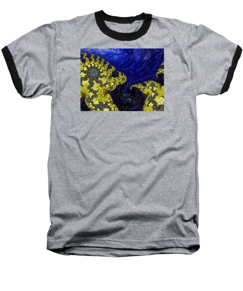 Baseball T-Shirt featuring the photograph Celestial Storm by Ronda Broatch