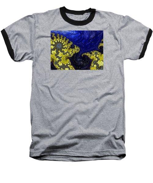 Celestial Storm Baseball T-Shirt