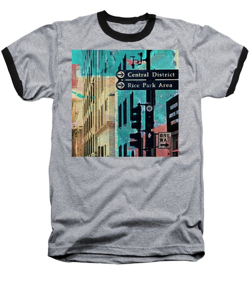 Baseball T-Shirt featuring the photograph Central District by Susan Stone