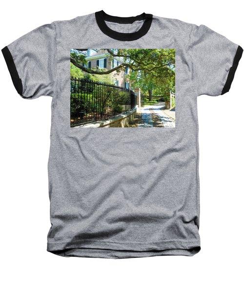 Charming Charleston Baseball T-Shirt by Kay Gilley