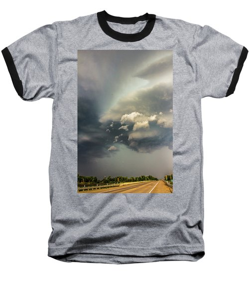 Another Stellar Storm Chasing Day 019 Baseball T-Shirt