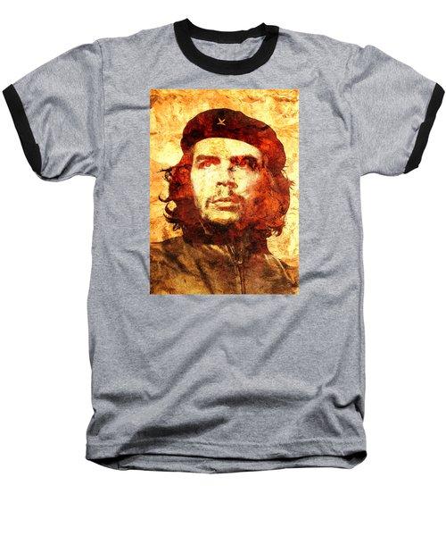 Che Guevara Baseball T-Shirt by J- J- Espinoza