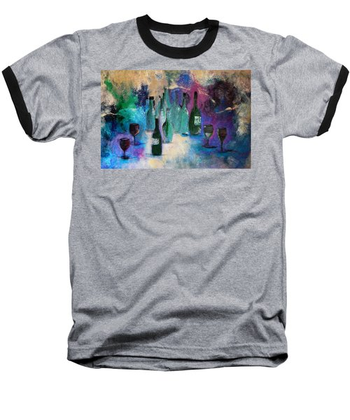 Baseball T-Shirt featuring the painting Cheers by Lisa Kaiser