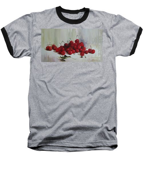 Cherries Baseball T-Shirt