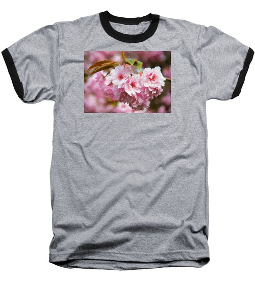 Cherry Blossom Baseball T-Shirt