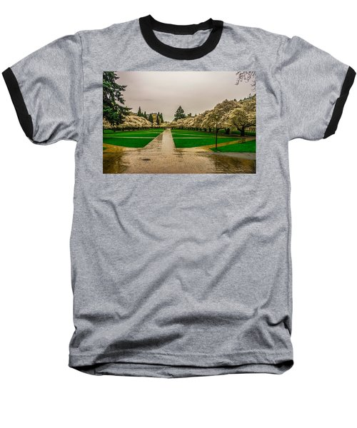 Baseball T-Shirt featuring the photograph Cherry Blossoms by Jerry Cahill