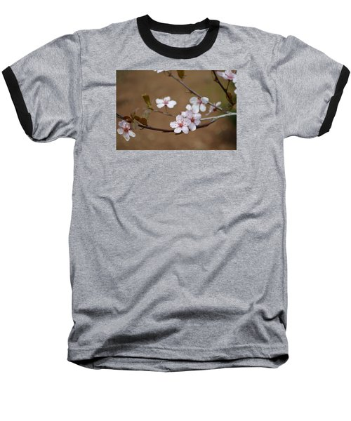 Baseball T-Shirt featuring the photograph Cherry Blossoms by Linda Geiger