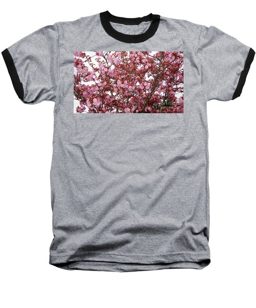 Baseball T-Shirt featuring the photograph Cherry Blossoms  by Victor K