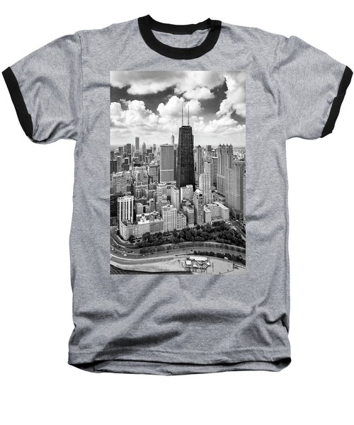 Chicago's Gold Coast Baseball T-Shirt by Adam Romanowicz