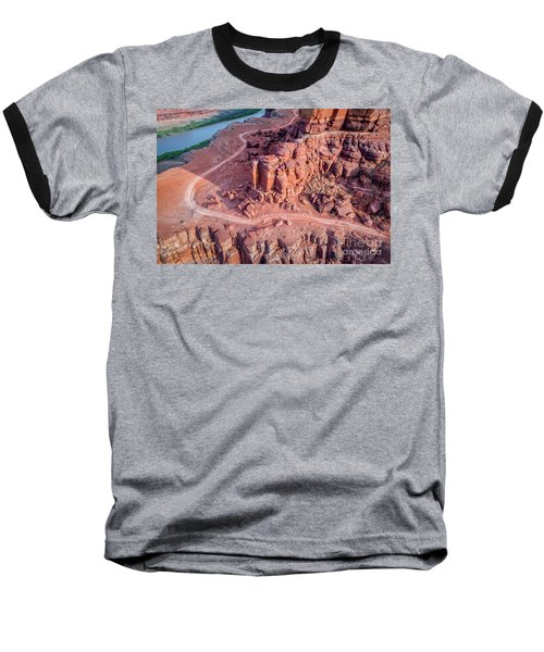 Chicken Corner Trail And Colorado River Baseball T-Shirt