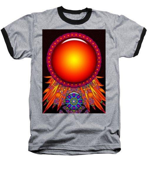 Baseball T-Shirt featuring the digital art Children Of The Sun by Robert Orinski