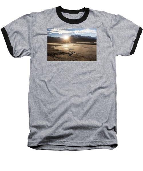 Chilkat River Sunset Baseball T-Shirt