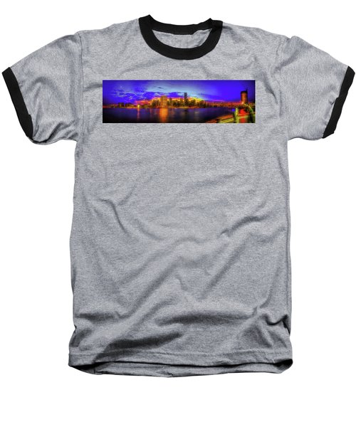 Baseball T-Shirt featuring the photograph Chillin' At Gantry by Theodore Jones