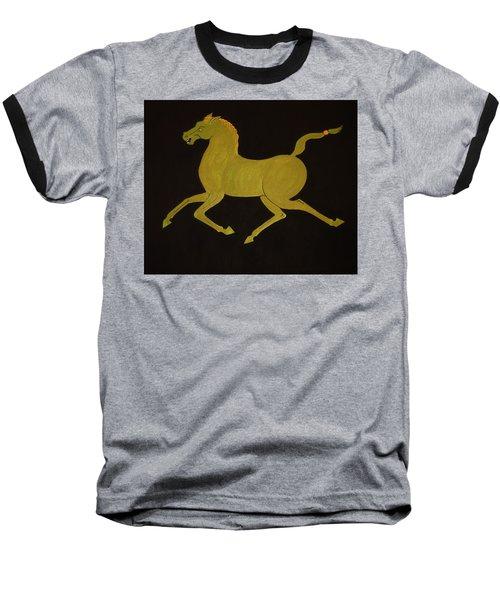Chinese Horse #2 Baseball T-Shirt