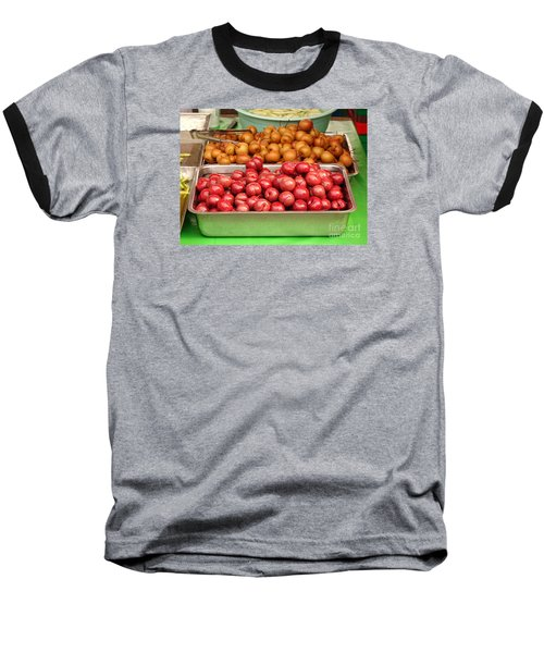 Chinese Plums And Pears Pickled In Sugar Baseball T-Shirt