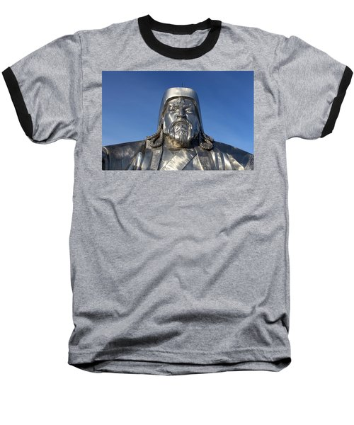 Chinggis Khan/tsagaan Sar Baseball T-Shirt by Diane Height