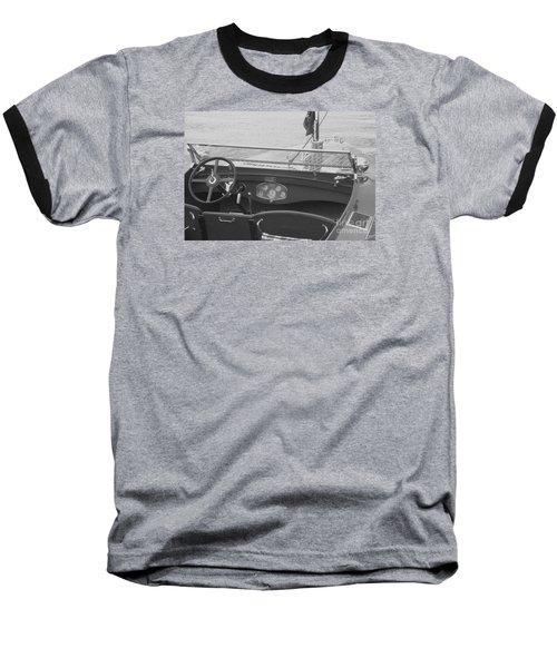 Runabout On Pewaukee Baseball T-Shirt