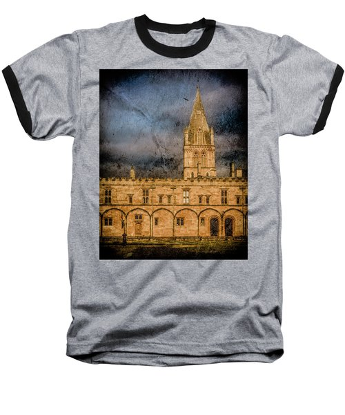 Oxford, England - Christ Church College Baseball T-Shirt